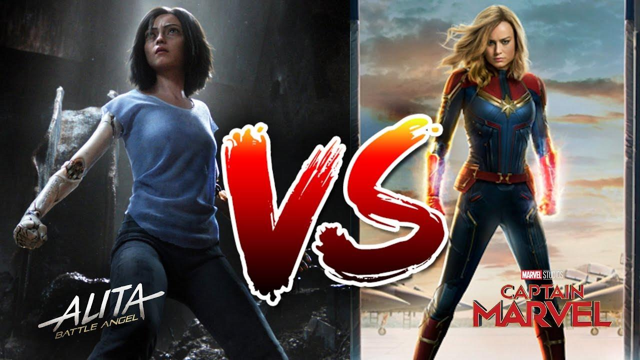 "Grrrrl Power Movies - Alita and ""Marvel"""