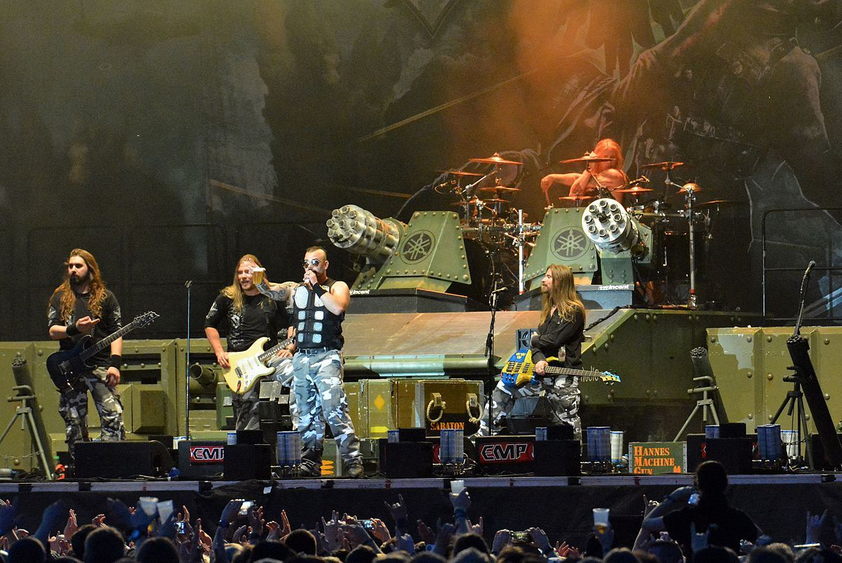 Sabaton on Tour